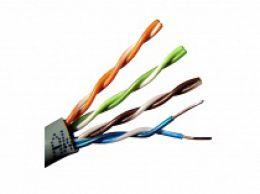 Сетевой кабель экранированная витая пара FTP CAT5e (уличный)