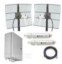 Комплект передачи видео до 7 IP-камер BR-20-8