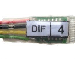Микромодуль DIF контроль охранного шлейфа