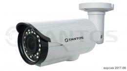 Уличная цветная видеокамера TSc-PL1080pHDv (2.8-12)
