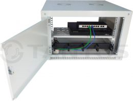 Полка консольная 1U для настенных шкафов  TSn-S270-C