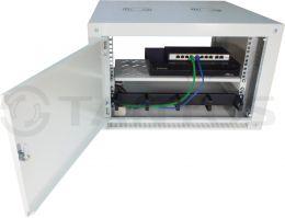 Настенный телекоммуникационные шкаф TSn-6U600W-G