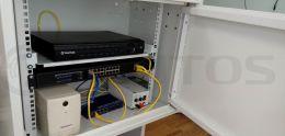 Антивандальный шкаф TSn-12U450W-V