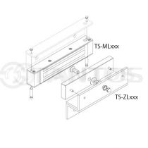 Комплект креплений для установки электромагнитных замков TS-ZL500