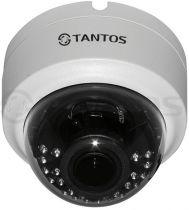 Внутренняя купольная универсальная видеокамера 4в1 TSc-Decov (2.8-12)