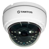 Купольная 2 Mp видеокамера 4в1 TSc-Di1080pHDv (2.8-12)