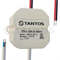 TS-15A-U-Slim источник вторичного электропитания