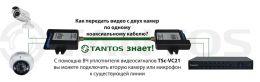 Уплотнитель 2 каналов видео TSc-VC21