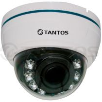 Купольная AHD видеокамера 1.3 Mp для внутренней установки TSc-Di960pAHDv (2.8-12)