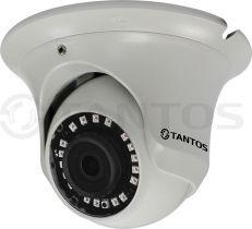 Антивандальная купольная универсальная видеокамера 4в1 TSc-E1080pUVCf (3.6)