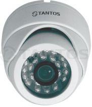Двухмегапиксельная купольная антивандальная IP камера TSi-Vecof22 (3.6)