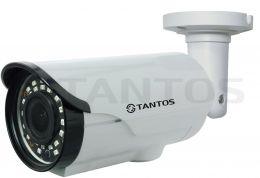 Уличная цилиндрическая 4 в1 видеокамера 1 Mp TSc-PL720pHDv (2.8-12)
