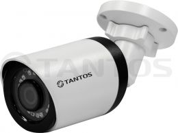 5 Мп AHD/TVI, 4Мп CVI уличная цилиндрическая видеокамера 4в1 TSc-P5HDf (3.6)