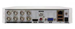 8-ми канальный гибридный мультиформатный регистратор TSr-UV0814 Eco