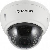 Антивандальная купольная универсальная видеокамера UVC 4в1 TSc-Vi1080pUVCv (2.8-12)