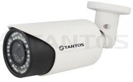 Четырехмегапиксельная уличная камера с вариофокальным объективом TSi-Pe40VP-F (2.8-12)