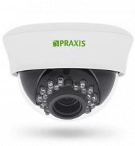Купольная сетевая видеокамера для помещений PP-7141IP 2.8-12 A/SD