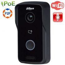 Одноабонентская вызывная WI-Fi IP панель DHI-VTO2111D-WP